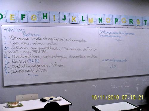 Rotina Prevista (16/11/2010)