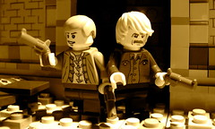 Butch Cassidy and the Sundance Kid (Profound Whatever) Tags: film movie kid lego cassidy scene sundance minifig butch moviescene