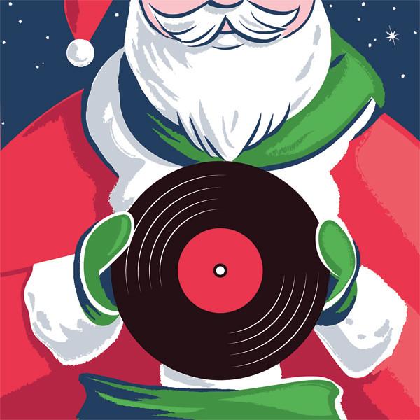 Soma FM Christmas Lounge art