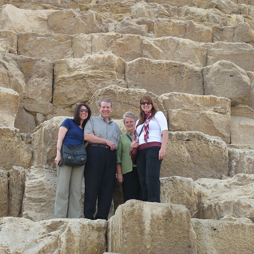 On the pyramids