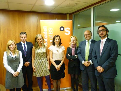 Convenio entre Banco Sabadell y GAJ Madrid