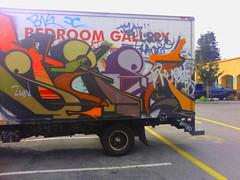 in Sunnyvale CA (Pastor Jim Jones) Tags: graffiti steel msk