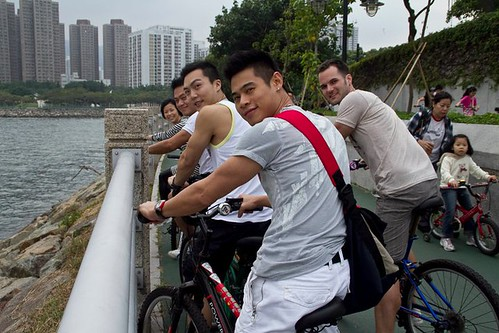 Cycling From Tai Po to Shatin