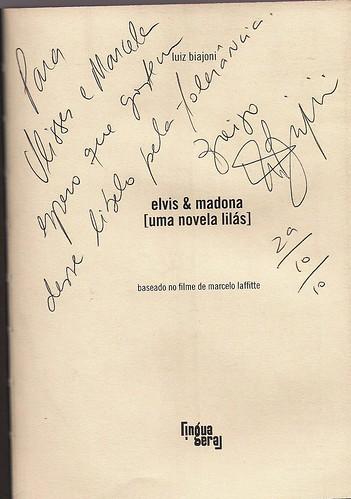Elvis & Madona - Autógrafo