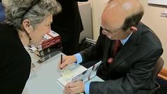 David Eisenhower book signing.