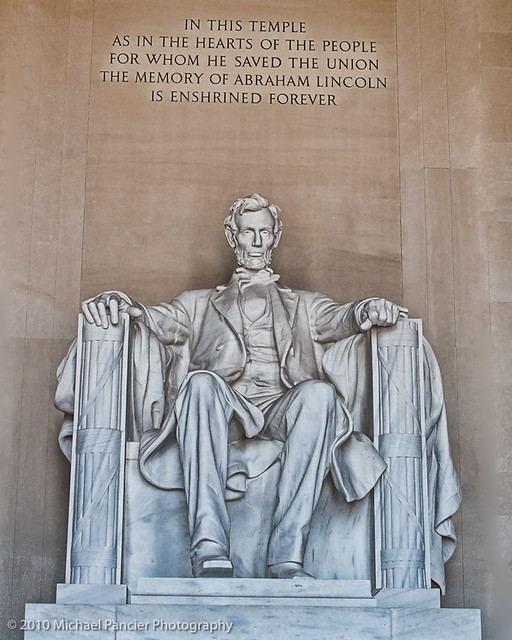 Abraham Lincoln in HDR