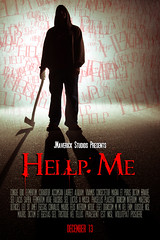 Hellp Me (Jake And Kim Photography) Tags: street guy film me fog movie poster soldier death blood zombie help horror axe murder murderer strobe hellp