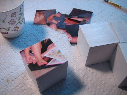 wooden block picture puzzles