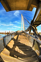 Sous le Pont des deux rives