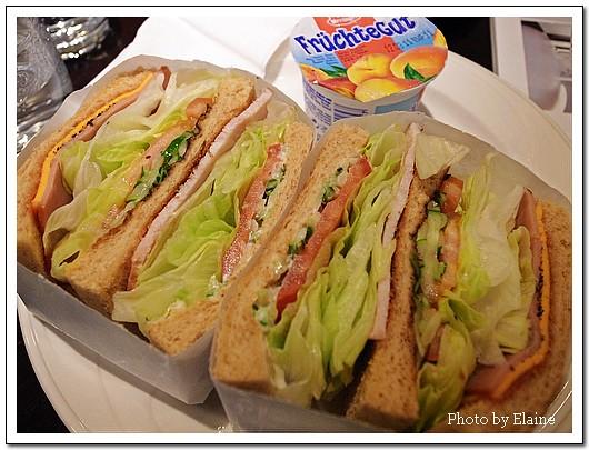 份量很多的三明治