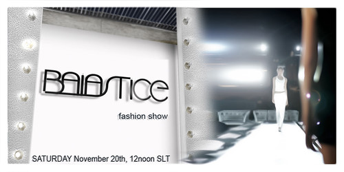 CRSP - Baiastice Fashion Show Invitation