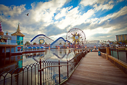 Paradise Pier, California Adventureland