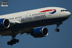 G-YMMT - 36518 - British Airways - Boeing 777-236ER - Heathrow - 100617 - Steven Gray - IMG_4390