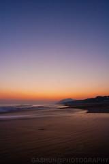 on the shore I (GASHUN) Tags: sunset sea sky lake reflection beach japan seaside surf ripple wave shore ira aichi akabane irago tahara atsumi atsumipeninsula