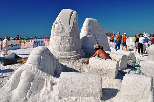 Magical Sand Masterpieces on Siesta Key