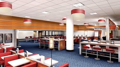 Delta JFK Bar Brace Terminal 3