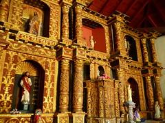 Altar de la capilla de Estanques