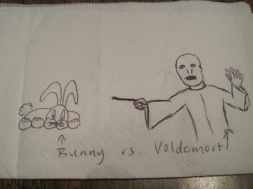 bunny vs. voldemort