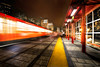I'll take the next train.... (MDSimages.com) Tags: california travel nikon nightshot sandiego hdr nightskyline michaelsteighner mdsimages