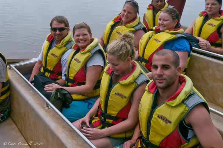 on the jet boat in sigatoka fiji