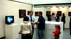 """The Edge of The World"" – The Senior Exhibition of Richard Barbre 22 (HSU Art Dept) Tags: show senior university state library richard henderson hsu huie barbre"