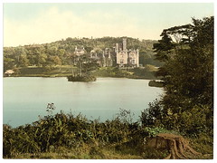 Wigtownshire, Stranraer, Lochnaw Castle 1900's