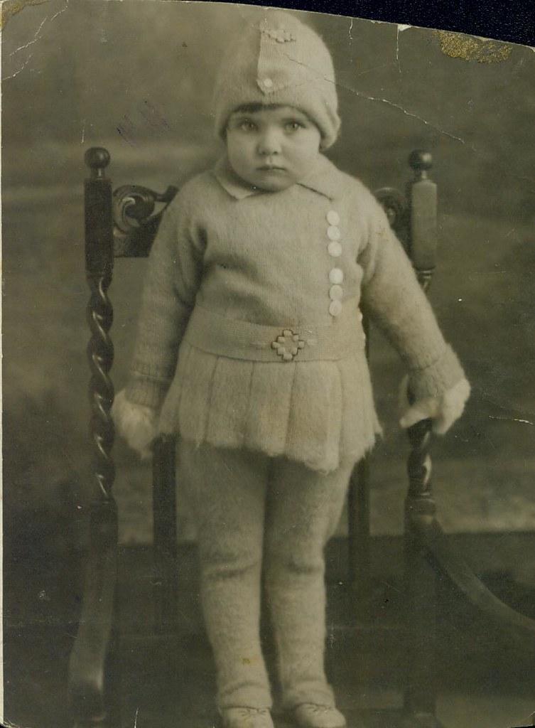Eva Monks , 2 yrs old 1932