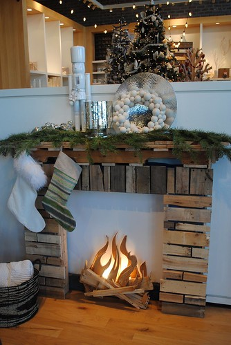 Mock Fireplace