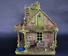 Fairy House Side View (Torisaur) Tags: fairytale waldorf fairy faery hobbit dollhouse dollshouse fairyhouse fairytalehouse fantasyhouse