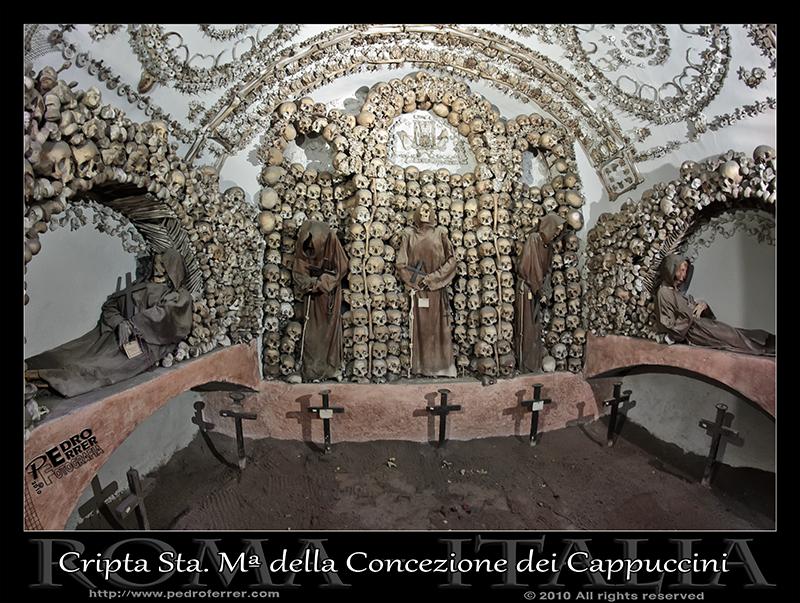 Roma - Santa María della Concezione dei Cappuccini - Cripta - Capilla 1