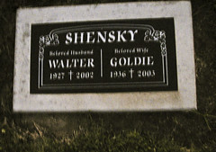 SHENSKY Walter 1927 2002 Goldie 1936 2003 beloved husband beloved wife (Dancing with Ghosts) Tags: california ca monument cemetery grave graveyard urn death memorial san mourning riverside headstone tomb birth graves funeral valley genealogy granite record burial marker hemet marble coffin labeled plot crematorium obituary necropolis funerary jacinto sites morgue monumental sanjacinto undertaker corpses mortuary crypts mausoleums stonemason excavations interment san county cemetery burial ossuaries remains jacinto listst42free cclicenc3 sanjacintocemetery vault cremated