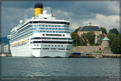 Costa Magica (Aviation & Maritime) Tags: costa oslo norway cruiseship costamagica costacrociere costacruises costaships