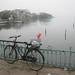 Lac de l'ouest dans la brume ...