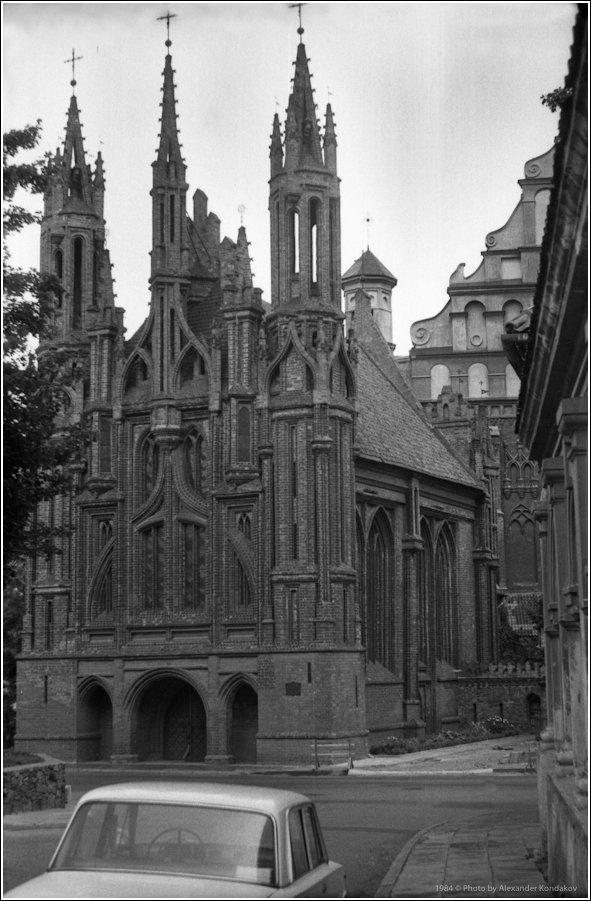 Church of St. Anne 1984 © Photo by Alexander Kondakov