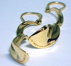 Earrings (theappraiserlady) Tags: spiral gold jewelry tiffanyco oro 750 joyas designerjewelry theappraiserlady frankgehryfortiffanycoorchiddrop