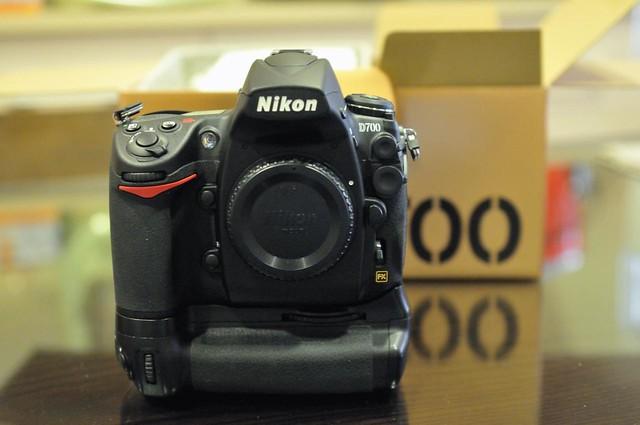 My New Toy Nikon D700