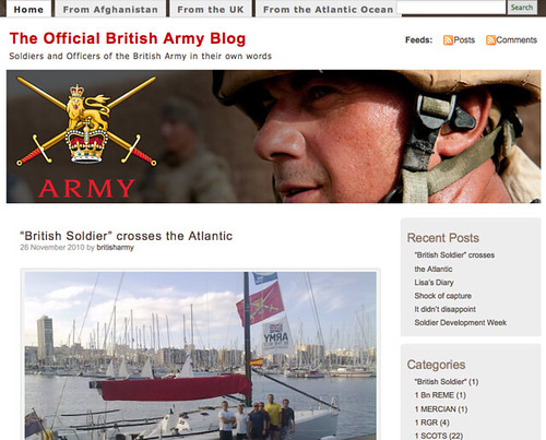 The Official British Army Blog