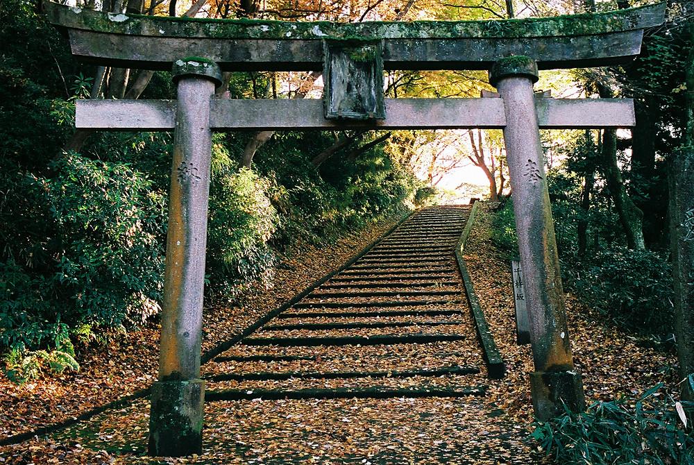 卯辰神社の鳥居