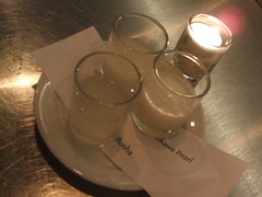 Sake flight