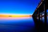 Sea of Blue HDR (mbaglole) Tags: park blue beach water silver pier high nikon dynamic state connecticut walnut ct nikkor sands range hdr highdynamicrange afs f3545 milfordct silversandsstatepark mywinners 1024mm walnutbeachmilford nikonnikkor1024mm