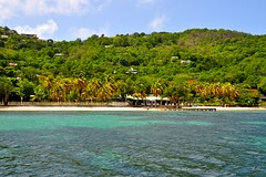Bequia (A.G. Photographie (+ 100 000 vues)) Tags: travel sunset sea beach water landscapes nikon sigma ag dreams grenadines d5000 caraibes