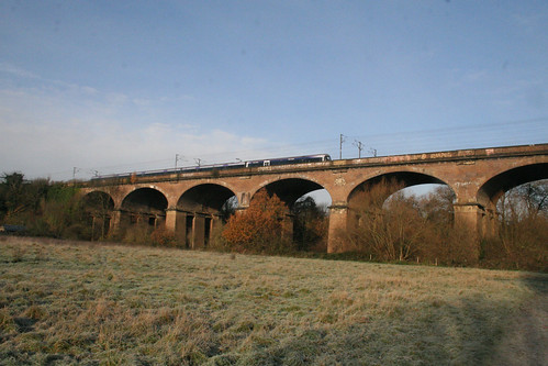 Wharncliffe Viaduct from the south fields