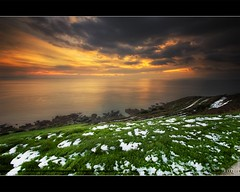 Cold Day [Explore 64 FrontPage 12] (Vincent.RCT Photographies) Tags: ocean winter sunset sea sun snow seascape france cold beach landscape high day dynamic explore neige normandie range frontpage normandy plage hdr waterscape basse haaghun