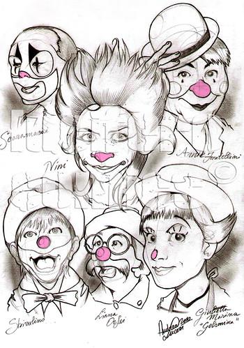 Le Clownesse copyrigth