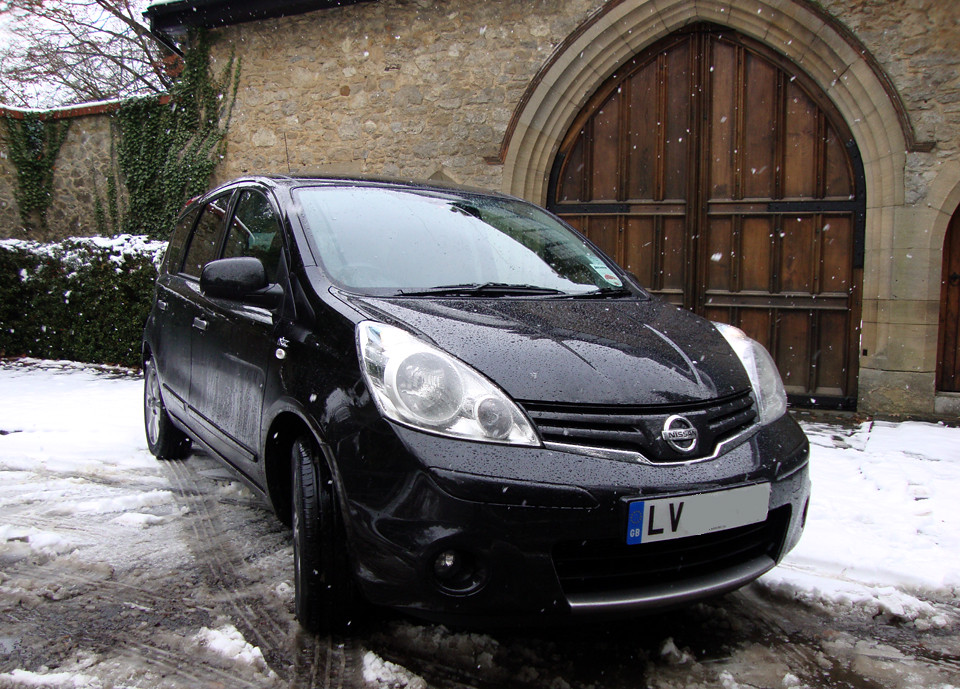 Nissan Note N-Tec 30Nov2010
