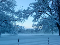 Keithick (hermiston) Tags: snow dawn scotland perthshire perth woodside ecosse keithick