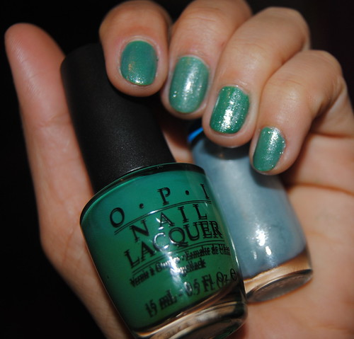 Jade is The New Black + Barbarela - OPI, Impala