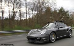 Grey (Alex Weber) Tags: verde green 911 turbo porsche lp ithaca lamborghini coupe carrera murcielago 997 lambo 640 murci lp640