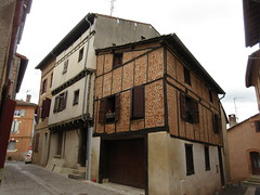 Old houses on Rue Saint-Loup, Albi, France (Paul McClure DC) Tags: albi france occitanie occitania july2017 historic architecture languedoc