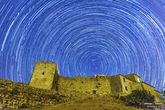 Startrails (Antonio Camelo) Tags: nikon night noche sky estrellas castillo castle astronomy stars